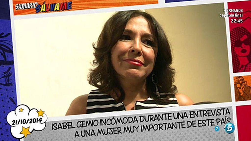 """Jorge Javier: """"Como Isabel Gemio no ha hablado de mí, yo tampoco hablaré de ella"""""""