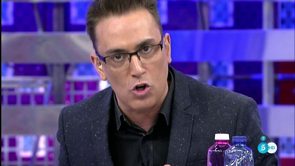 """Kiko Hernández: """"A día de hoy, yo no estoy demandado por el señor Toño Sanchís"""""""