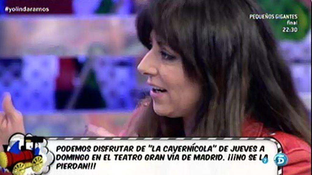 """Yolanda Ramos: """"Echo mucho de menos presentar 'Hable con ellas"""""""