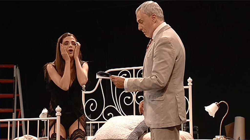 Lola vuelve a los escenarios al lado de un actor octogenario