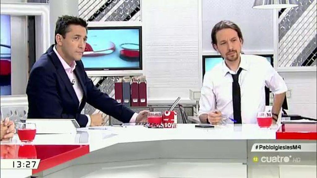 La entrevista a Pablo Iglesias, a la carta