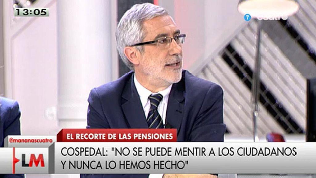 """Llamazares: """"El PP y este Gobierno han sido hipócritas, han tergiversado y han mentido"""""""