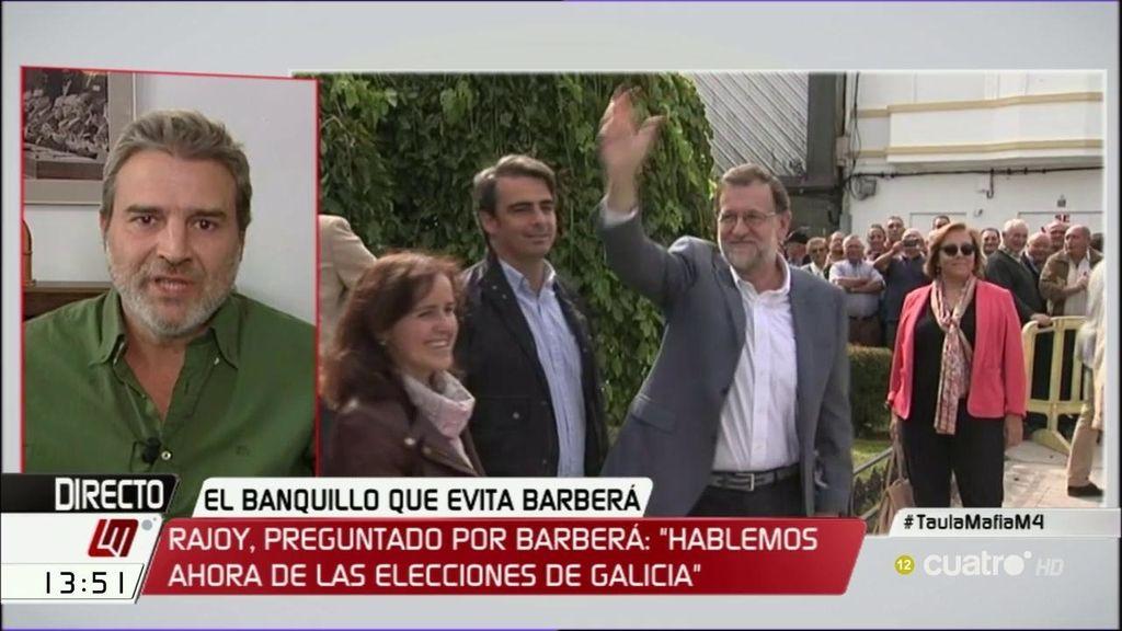 """Alberto San Juan: """"Rajoy se pasa el Parlamento y las instituciones por el forro"""""""