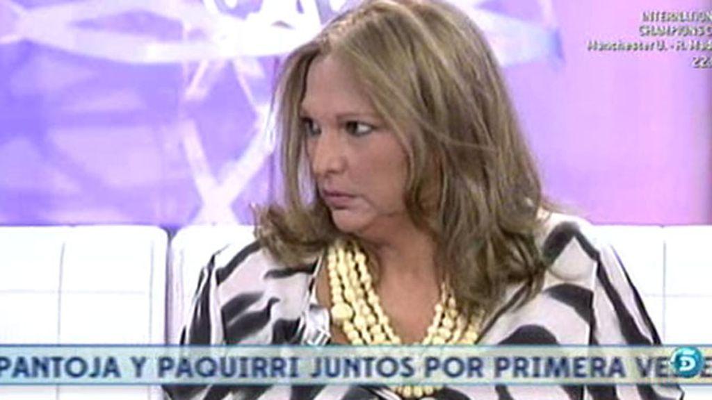 """Charo Vega: """"Siempre seré amiga de Isabel aunque no nos hablemos desde octubre"""""""