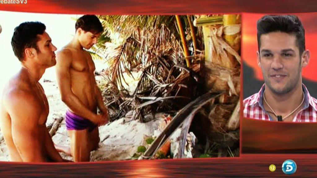 """Santana, en el debate: """"Las arritmias me dieron al ver a Pelopony en bikini"""""""