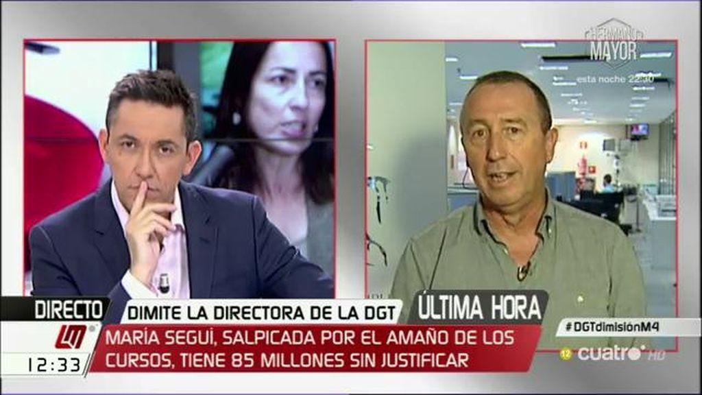 """Joan Baldoví cree que Fernández Díaz """"debería haber sido cesado"""" cuando se hicieron públicas las escuchas"""