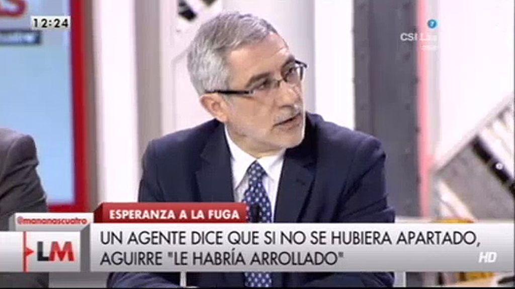 """Gaspar Llamazares, sobre Esperanza Aguirre: """"Me parece un escándalo"""""""