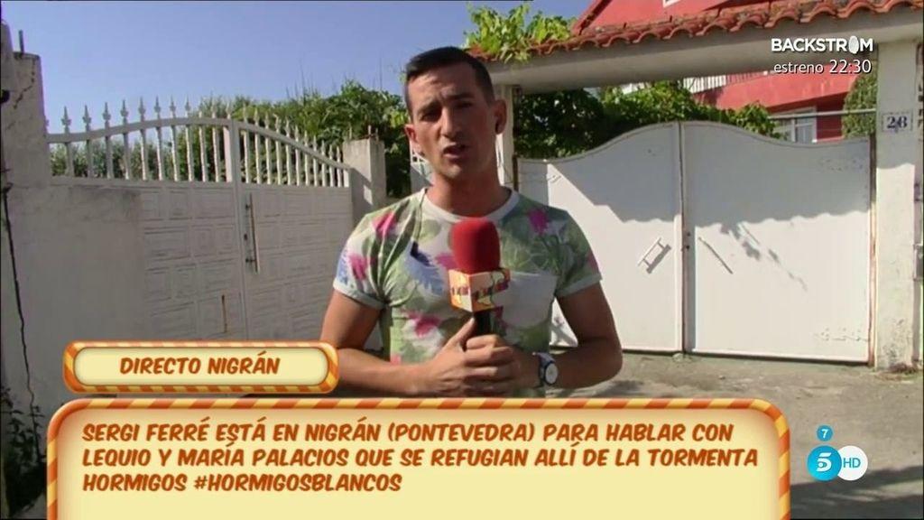 """Sergi Ferré: """"Hay mucha tensión desde que salió la polémica con Olvido Hormigos"""""""