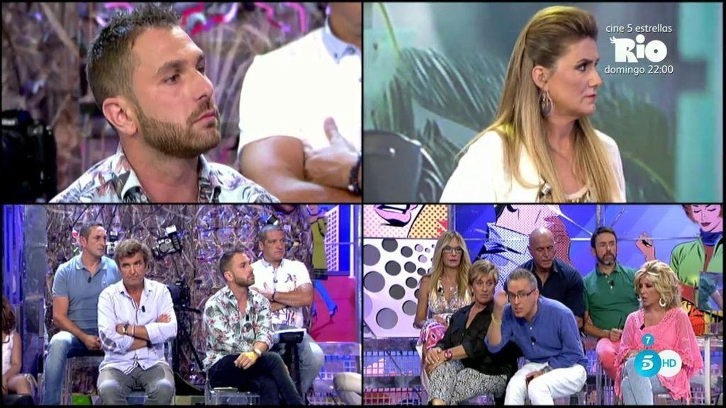 Según Jordi Martín, 'Semana' retiró fotos de Laura M. en las que salía con varios chicos