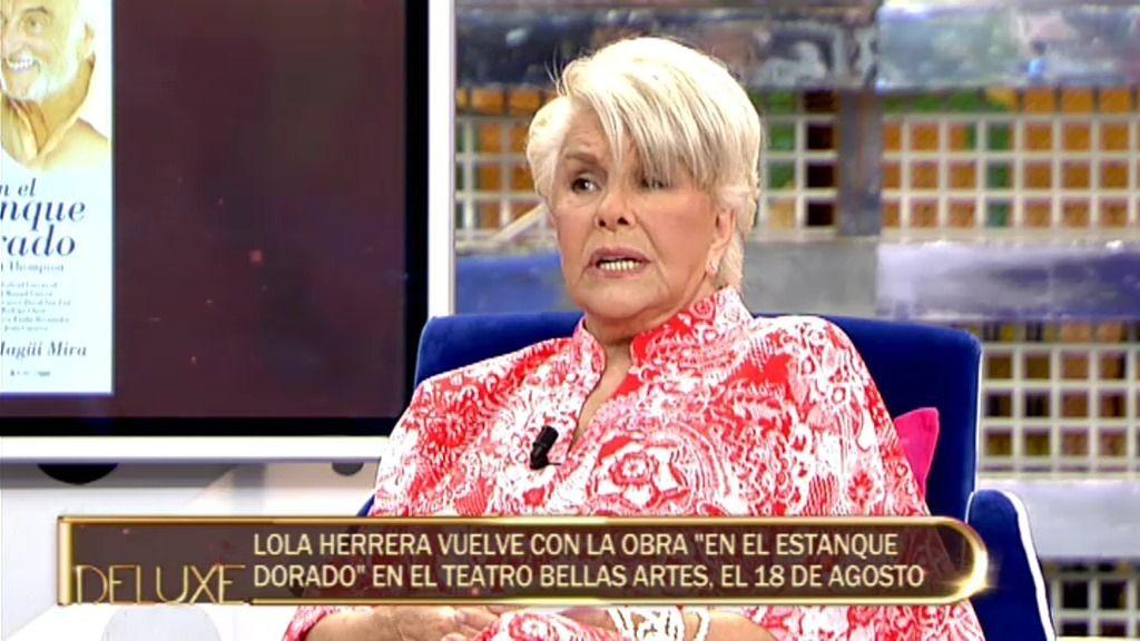 """Lola Herrera: """"Mi gran amor es el teatro"""""""