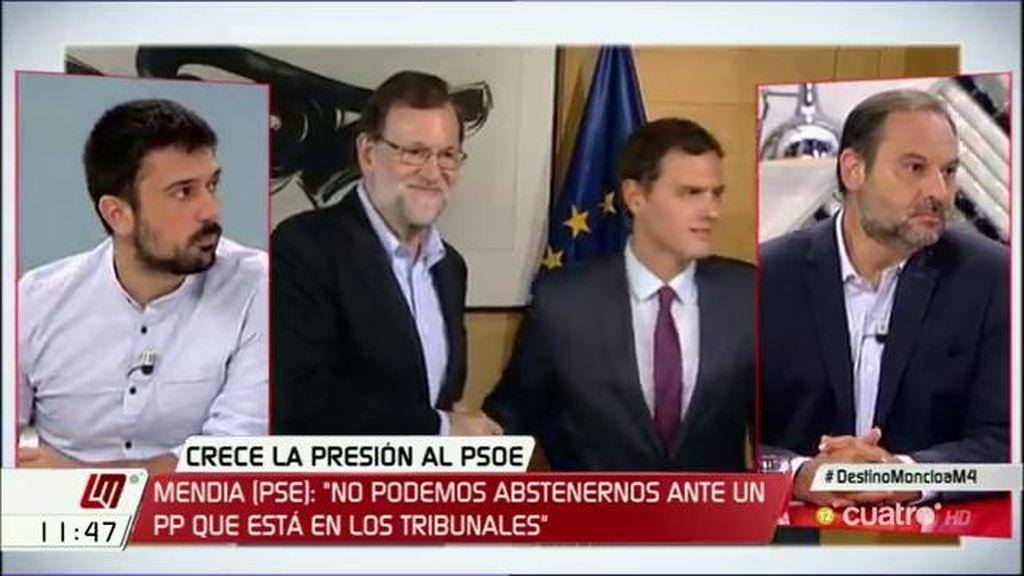 "Ramón Espinar: ""Creo que ya podemos decir que la investidura de Rajoy va a fracasar"""