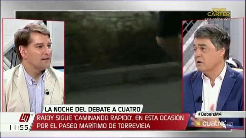 """Manuel de la Rocha (PSOE): """"Los españoles tienen que saber que el cambio no tiene intermediarios"""""""