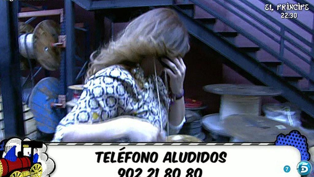 Raquel Bollo se va de plató entre lágrimas