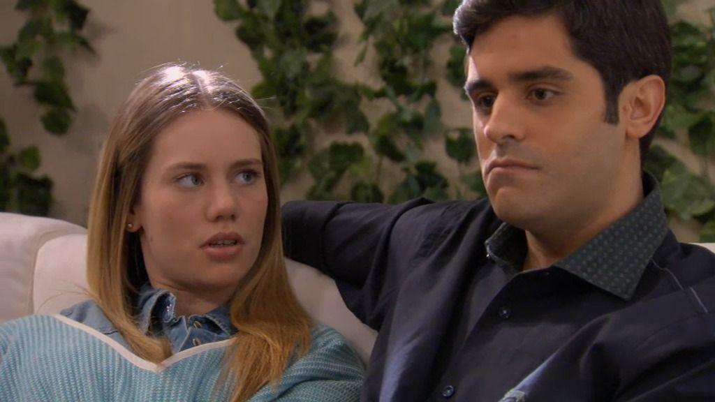 """Irene miente a Rodrigo: """"Ayer estuve cenando con Miguel, el amigo de Lucía"""""""
