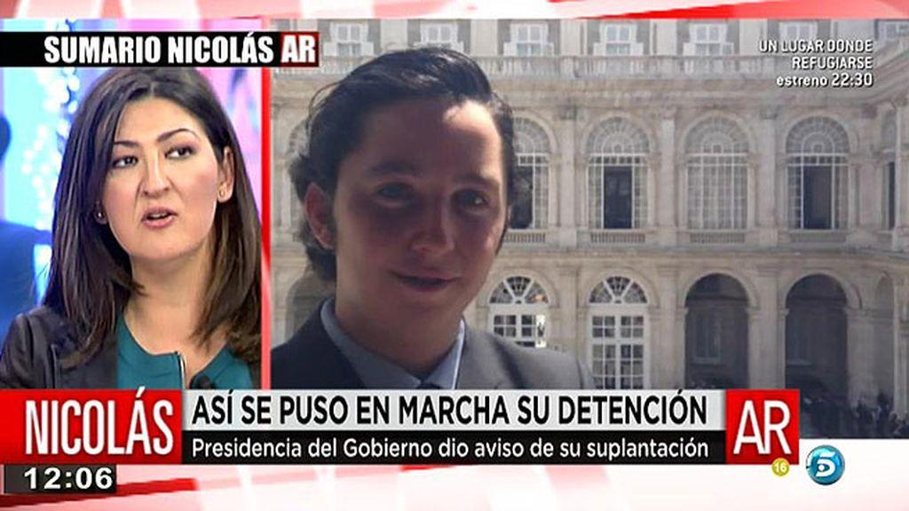 """Cruz Morcillo: """"La policía me niega que F. Nicolás falsificará un DNI"""""""