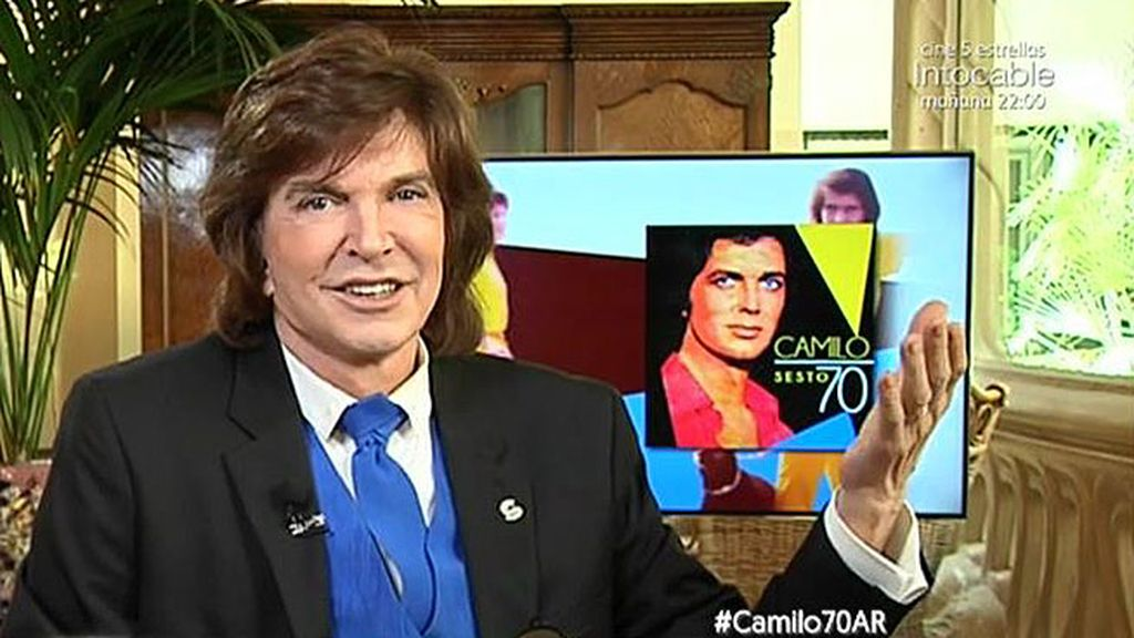 ¡Felicidades Camilo! El artista cumple 70 años y lo celebra con nuevo disco