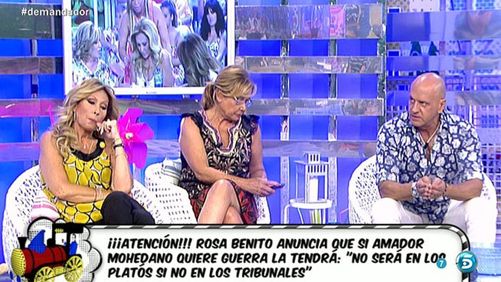 """Kiko Matamoros: """"No es la primera vez que Amador Mohedano sustrae dinero a Rosa"""""""