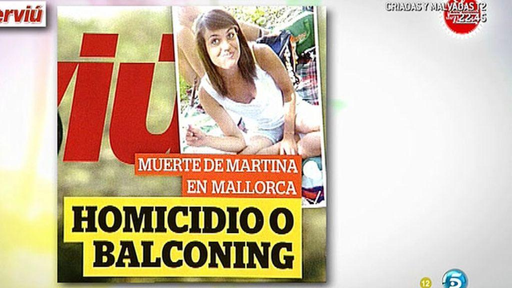 Los investigadores barajan que Martina cayera de un balcón al huir de una agresión sexual