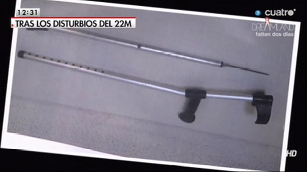 Los sindicatos policiales se equivocaron mostrando dos fotos como armas incautadas