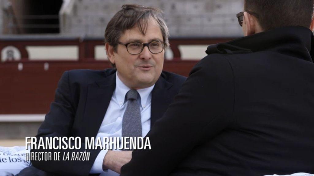 """Risto, a Marhuenda: """"Me pareces un friki"""""""