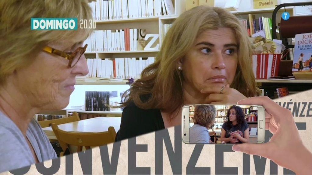 Lucía Etxebarría se enfrenta a su lectora más crítica, este domingo en 'ConvénZeme'