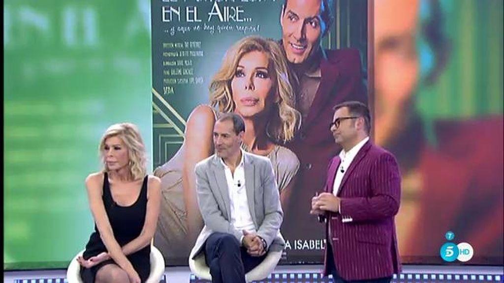 """Bibiana Fernández y Manuel bandera estrenan """"El amor está en el aire"""""""