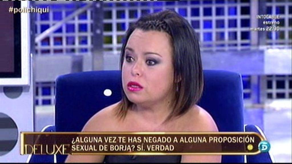 """Chiqui: """"A Borja le digo que no me haga lo que a él no le gustaría que le hicieran"""""""