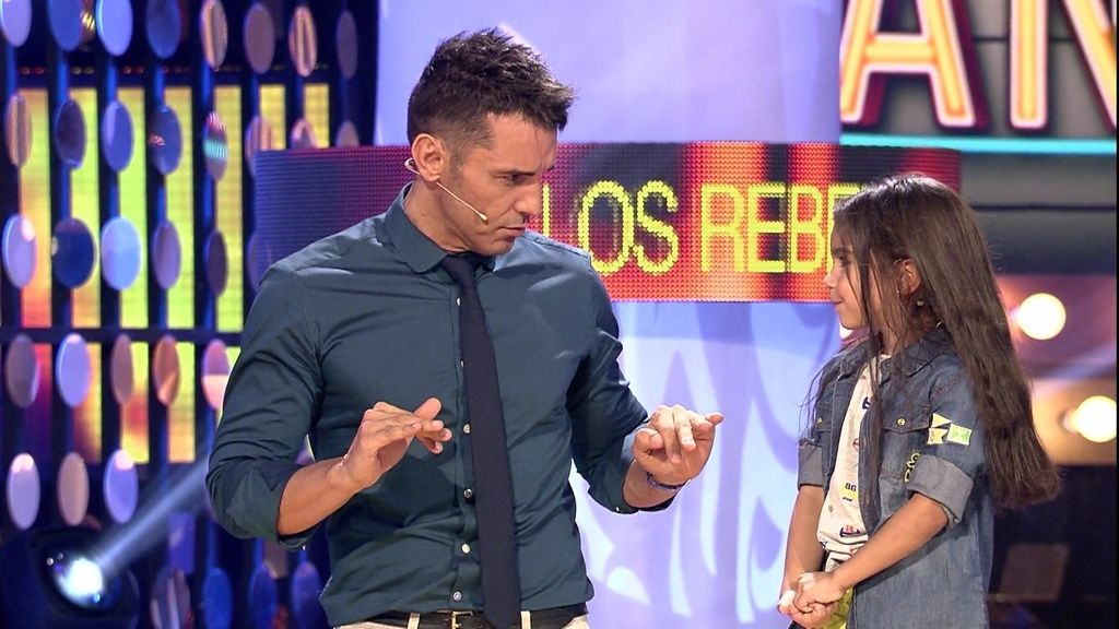 "El jurado ""pilla"" al talentito Juanmi: ""Ensayar me gusta 'pichi-pichá'"