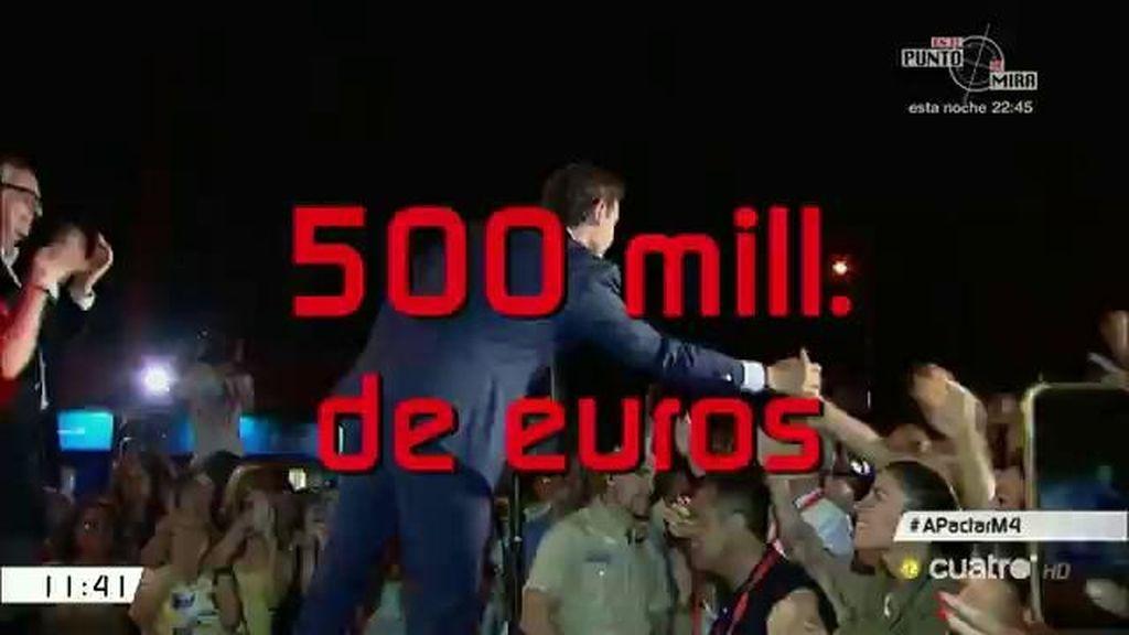 500 millones de euros, el gasto que supondrían tres convocatorias electorales