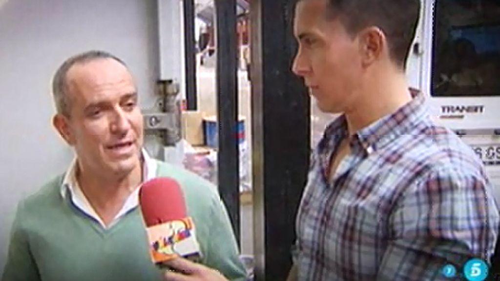 """Víctor Sandoval: """"He sido un Judas con Belén"""""""