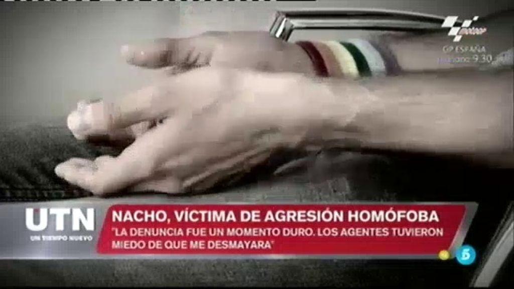 """Nacho, víctima de agresión homófoba: """"La policía nos dijo que no podían detenerles"""""""
