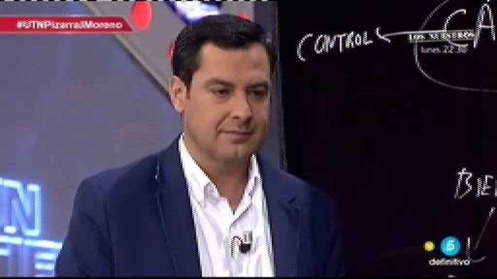 """J. Moreno (PP): """"Me comprometo que en el 2016 hay 600.000 andaluces menos en paro"""""""