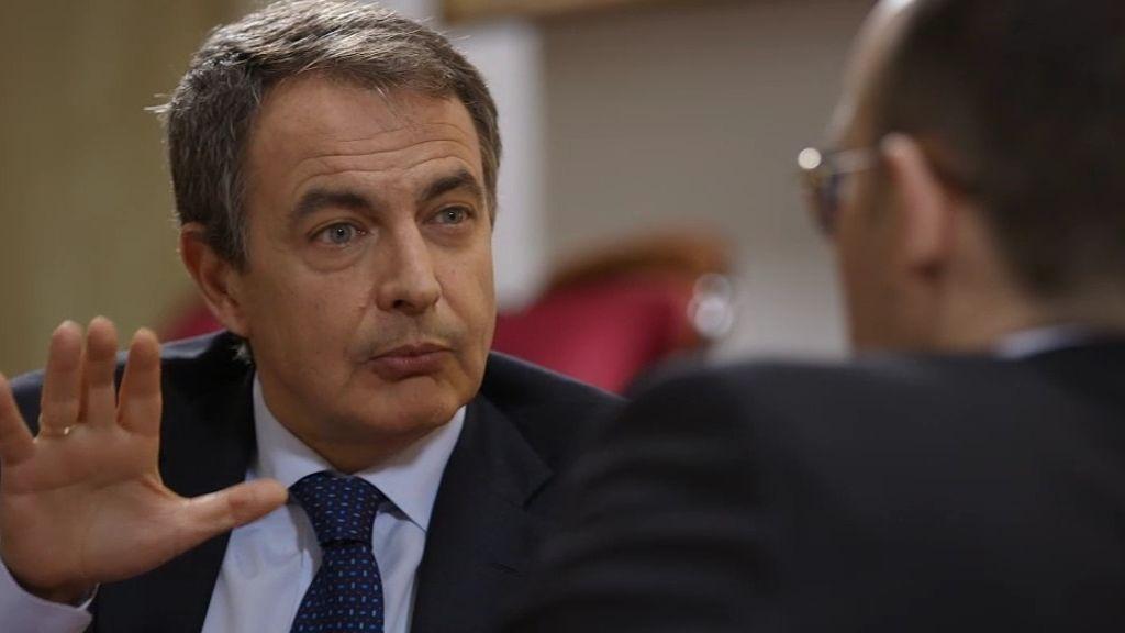 """Zapatero, sobre el Rey: """"Creo que no debería abdicar. Es el reinado de la democracia"""""""