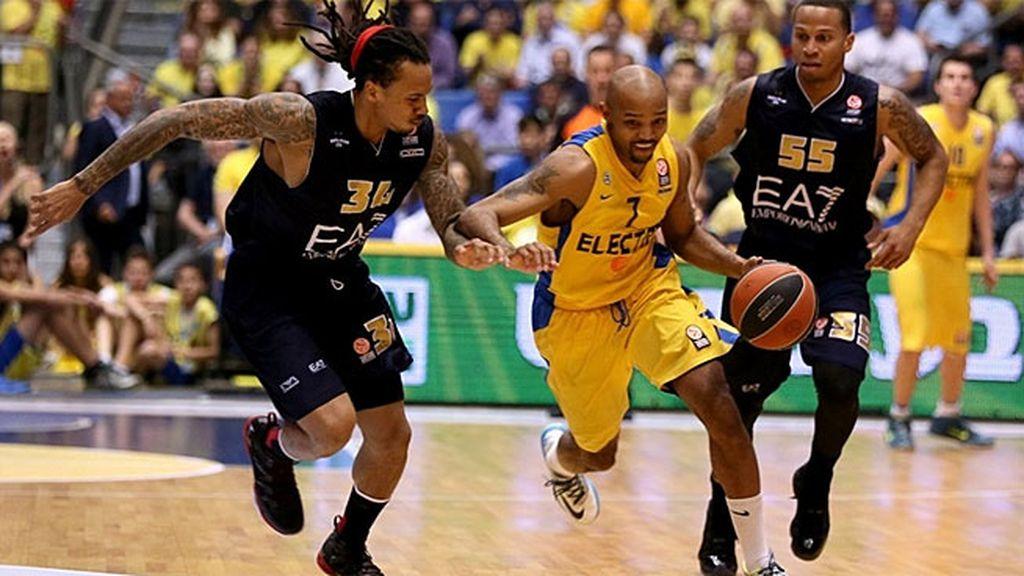 El Maccabi deja al Emporio Armani Milán sin su Final Four tras ganar por 86-66