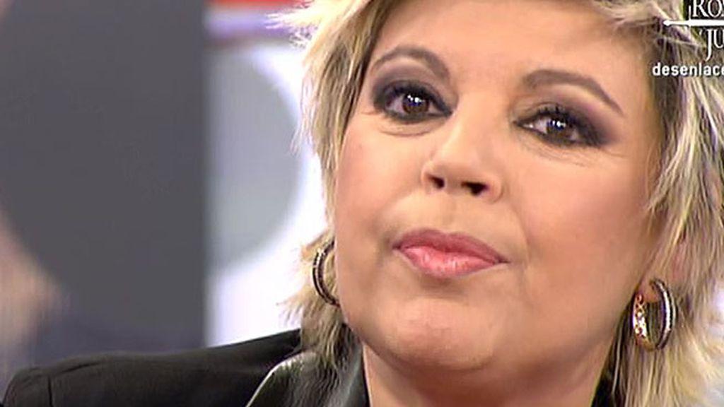 Terelu Campos no sigue con su reto