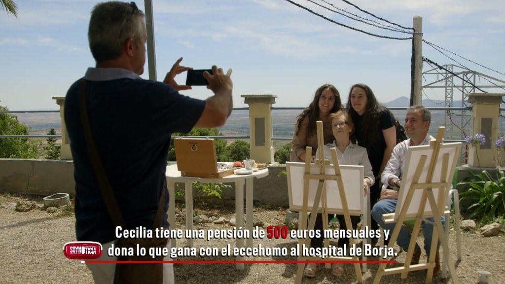 """Cecilia, aclamada por los fans: """"Lo que gano con el 'Ecce Homo' lo dono al hospital"""""""