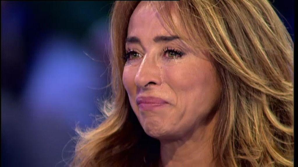 """María Patiño, a Jorge Javier: """"Gracias por tu mensaje, es una inyección de vida"""""""
