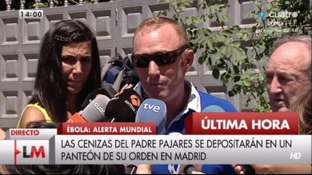 """Familia del padre Miguel Pajares: """"Pensamos que se recuperaría"""""""