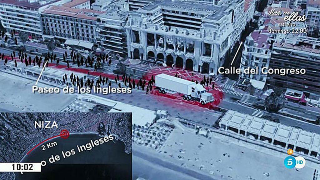 Así fue el atentado terrorista de Niza