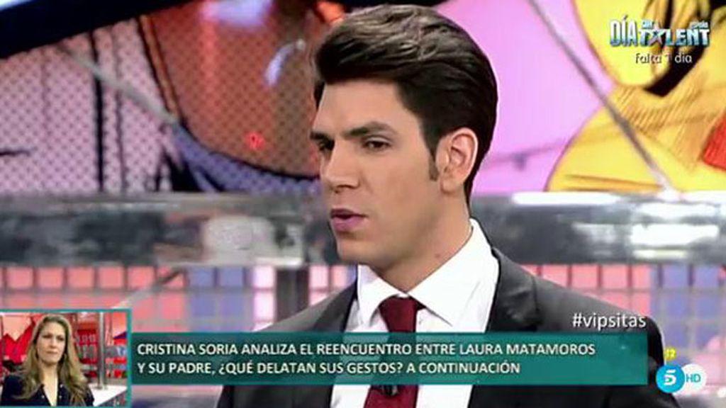 """Diego Matamoros: """"Lo que se está vendiendo en el reality es nuestra vida"""""""