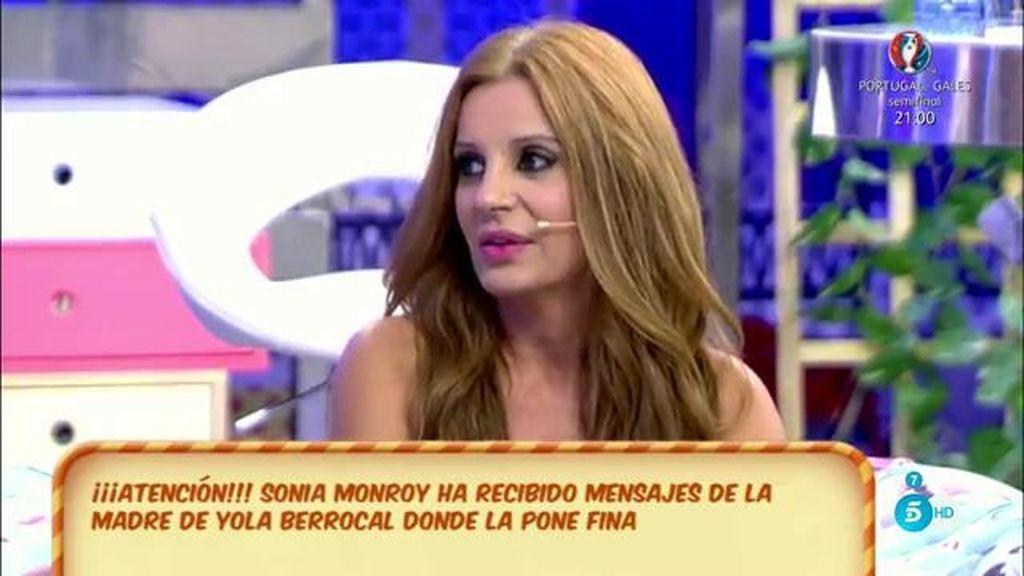 """Sonia Monroy: """"No me toquéis las narices, familia Berrocal, como hable estalla España"""""""