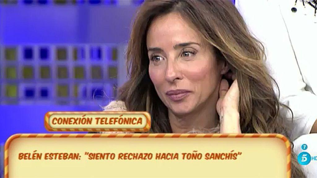 """Belén, de Sanchís: """"Es mentira que me hayas dado la documentación, deja de mentir"""""""