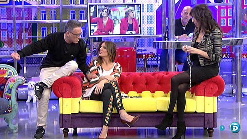 ¿Habló mal Chelo García Cortés de sus amigas María Patiño y Gema López?