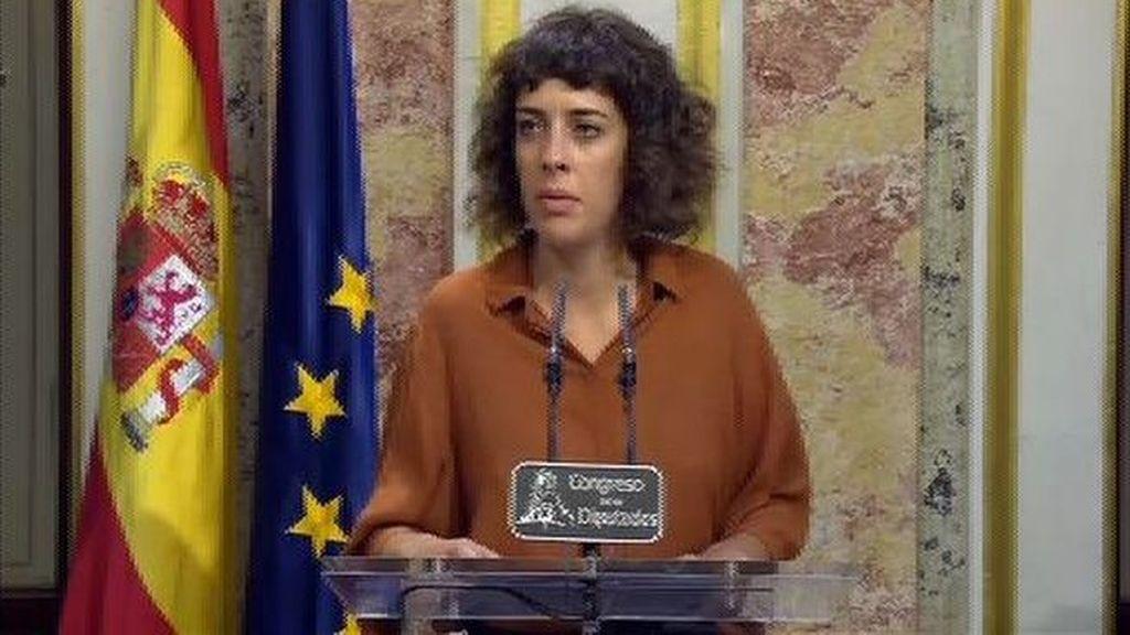 """Alexandra Fernández: """"Rajoy vive absolutamente fuera de la realidad"""""""