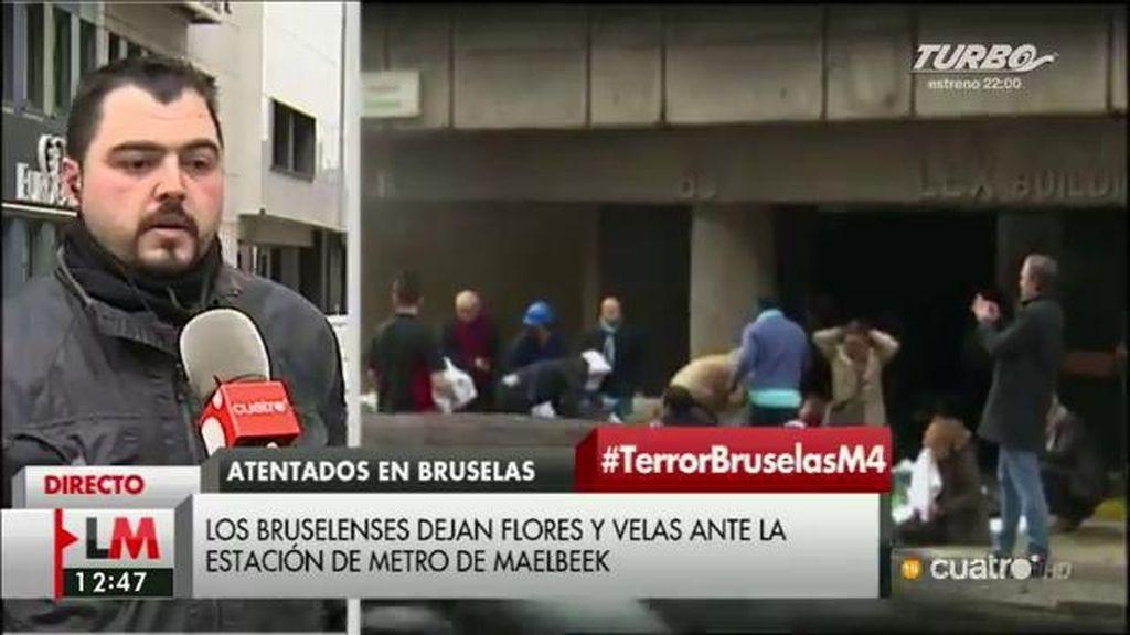 """Michael, testigo de los atentados: """"Hay miedo, pero no queremos parar"""""""