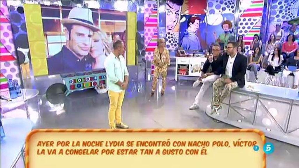 La foto de Lydia con Nacho Polo despierta la 'ira' de Víctor Sandoval