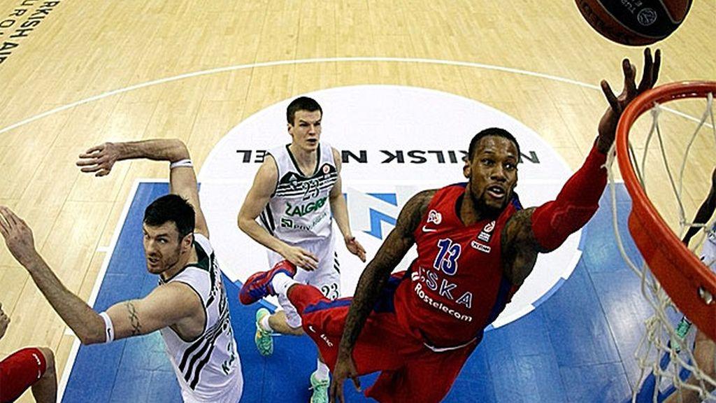 El CSKA Moscú se lleva la victoria gracias a Fridzon y Teodosic