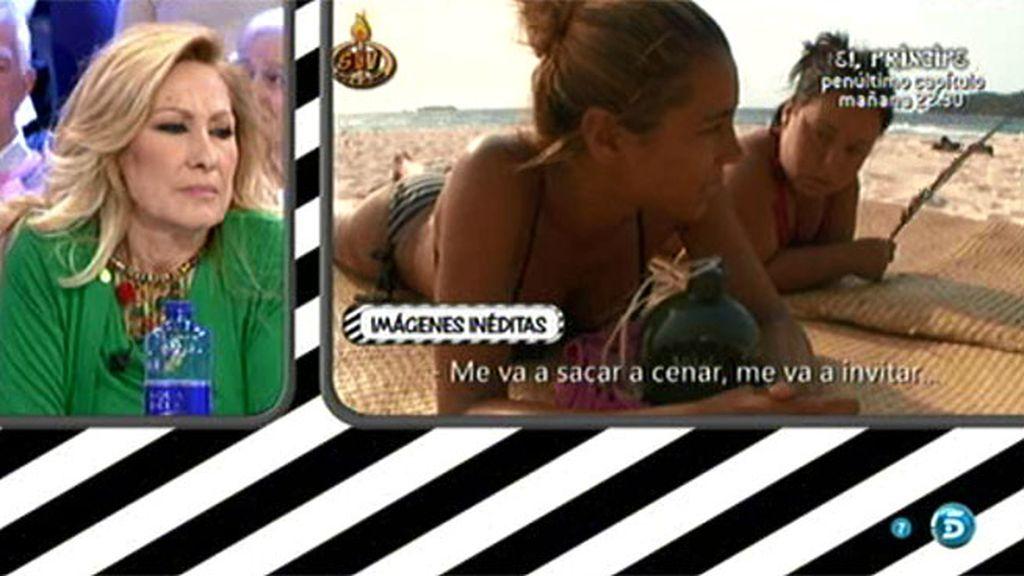 Imágenes inéditas: Vivi Figueredo asegura que Amador la ha robado un beso