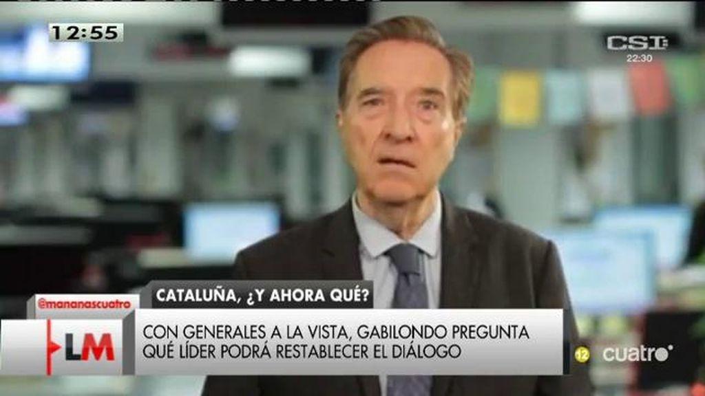 """I. Gabilondo, tras las elecciones de Cataluña: """"Se avecina un proceso reconstituyente"""""""
