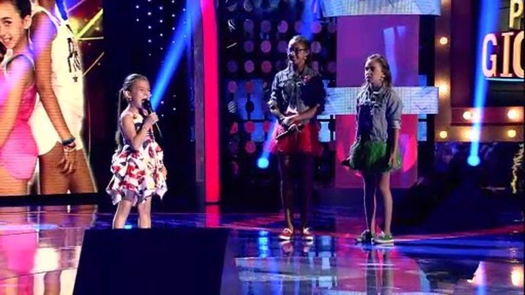 Ariadna y Nadinne frente a Indara protagonizan una batalla musical llena de arte